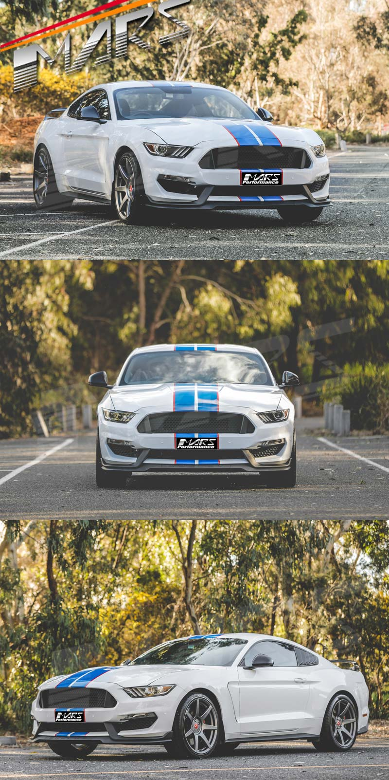 Used Mustang Parts >> Shelby GT350 Style Front Bumper Bar Body Kits for Ford ...