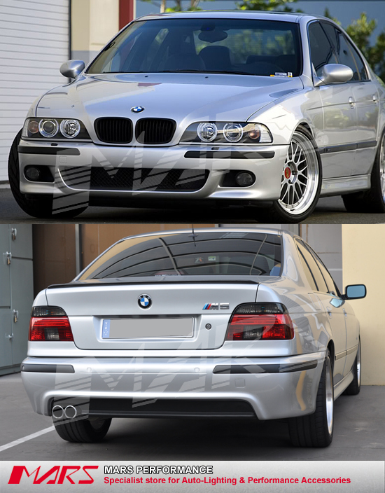 M5 style Front Bumper & Rear Bumper & Fog Lamps for BMW ...