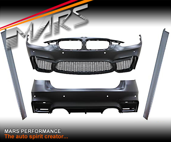 F80 M3 Style Side Skirts Amp Front Bumper Amp Rear Bumper For