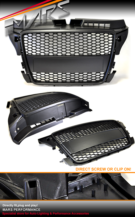 gloss black m4 style front kidney grille grill for bmw 1. Black Bedroom Furniture Sets. Home Design Ideas