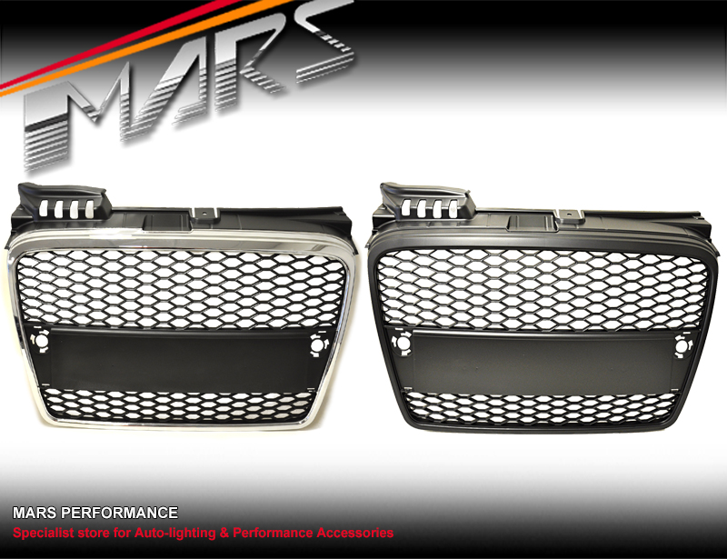Chrome Black RS HONEYCOMB FRONT BUMPER GRILLE GRILL for AUDI A4 B7 on audi s4 grill, mercedes-benz e350 grill, audi q7 grill, audi grill parts, audi a8 grill, ford transit grill, audi chrome grill inserts, 2007 a4 grill, audi tt grill, audi rs4 grill, audi q5 grill, audi billet grill, a4 b6 grill, audi q3 grill, mercedes 190e grill, audi quattro grill, bmw 745 grill, mercedes sl500 grill, audi b4 grill, 2007 audi grill,