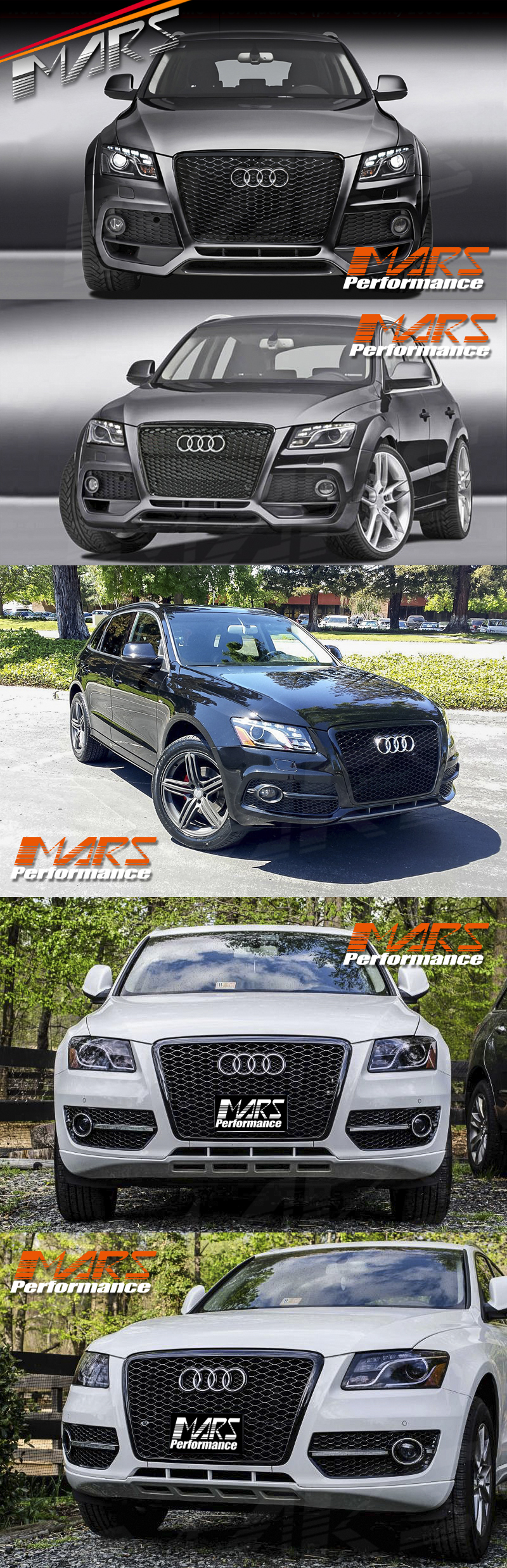 gloss black honeycomb rs q5 style front bumper bar grille for audi q5 8r 09 12 ebay. Black Bedroom Furniture Sets. Home Design Ideas