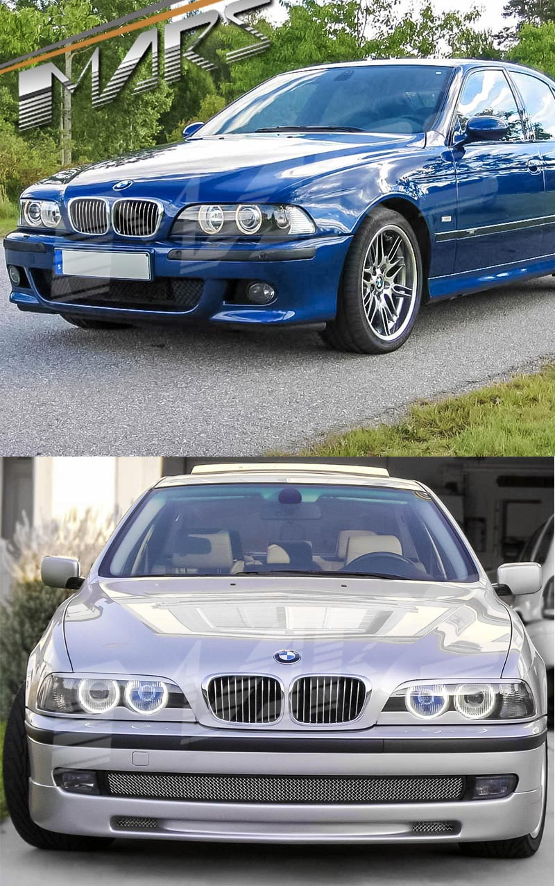 chrome silver m5 style front kidney grille for bmw e39. Black Bedroom Furniture Sets. Home Design Ideas