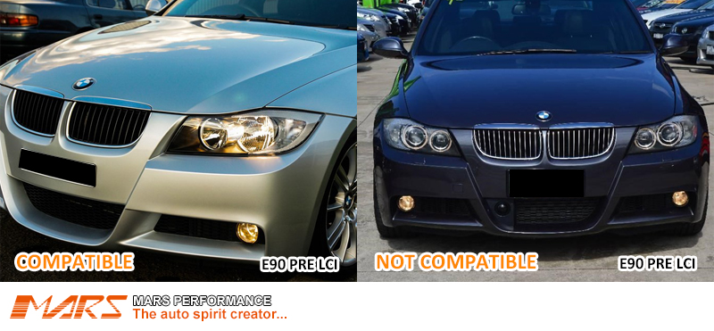 These Headlights Are NOT Compatible With BMW Factory HID/Xenon Systems: