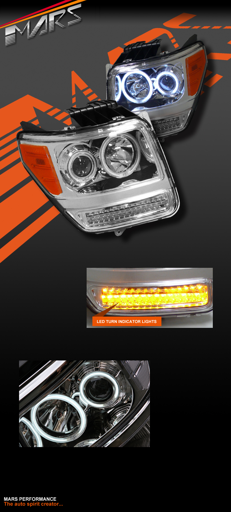 Dodge Nitro Halo Headlights Dual Ccfl Halo 2007 2012