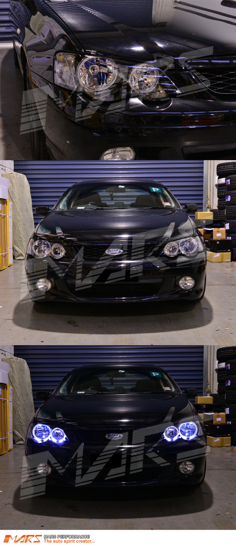 how to change reverse bulb fg xr6