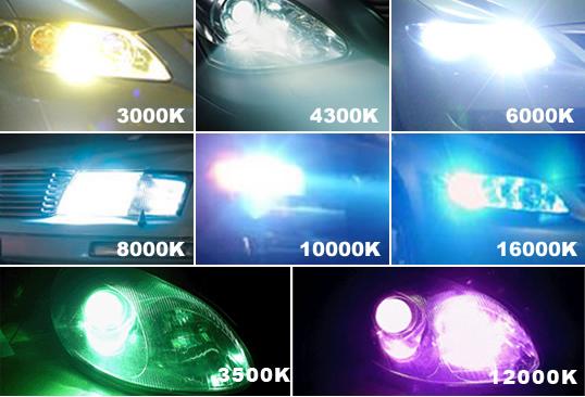 Mars 55w Ac Hid Xenon Head Lights Bulbs H1 H3 H4 H7 H8 H9