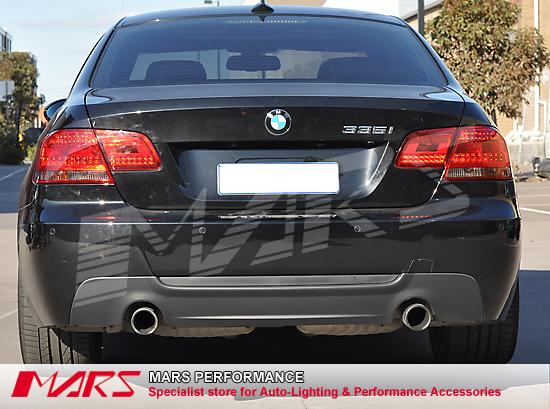 m tech m sport style rear bumper bar bmw e92 323i 325i 335i 320d