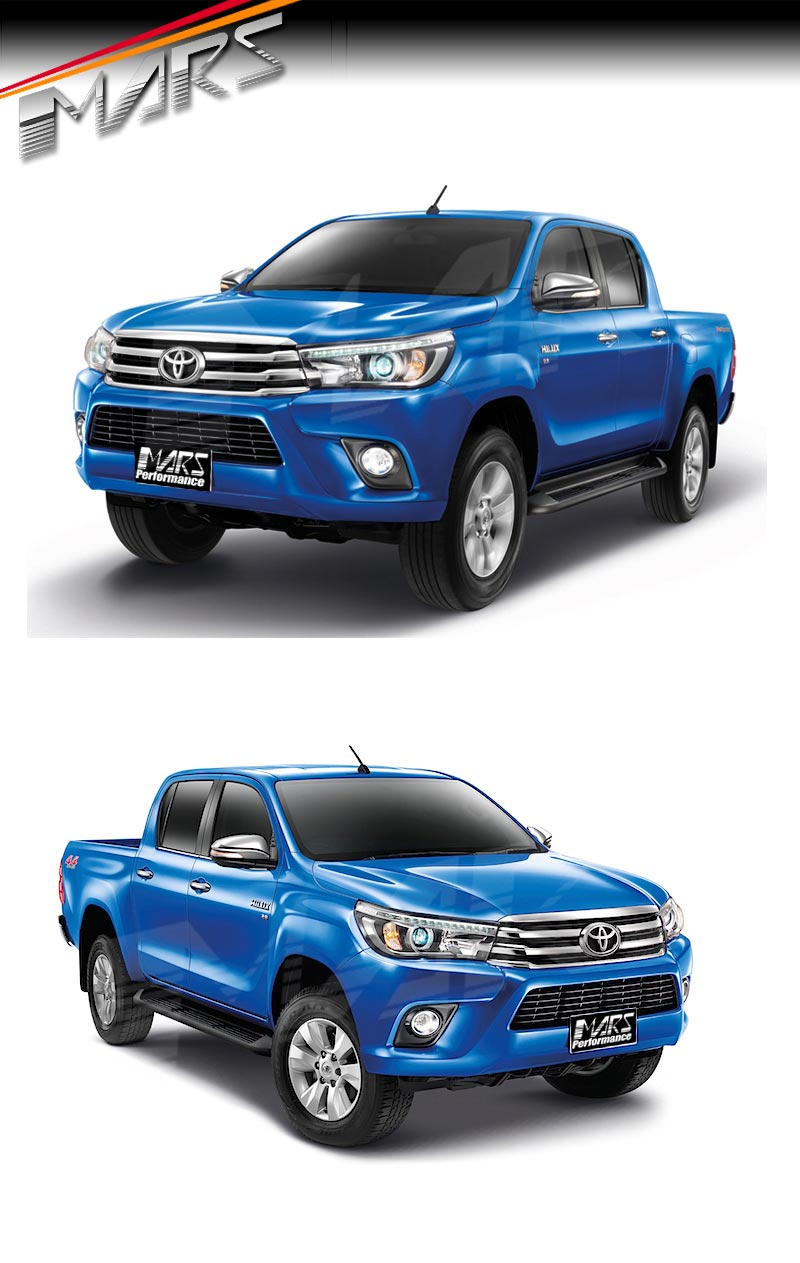 Side Steps Running Boards For Toyota Hilux Revo Amp Trd 15