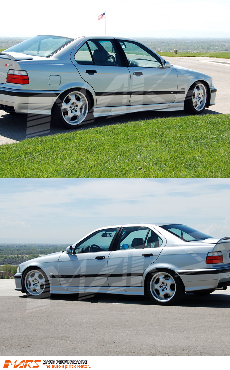 Bmw 325i For Sale >> M3 Style Side Skirts For BMW E36 M3 SEDAN & CONVERTIBLE & COUPE | Mars Performance