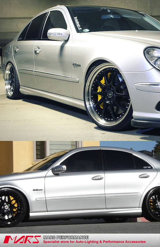 amg e63 style side skirts bodykit bodykit for mercedes. Black Bedroom Furniture Sets. Home Design Ideas