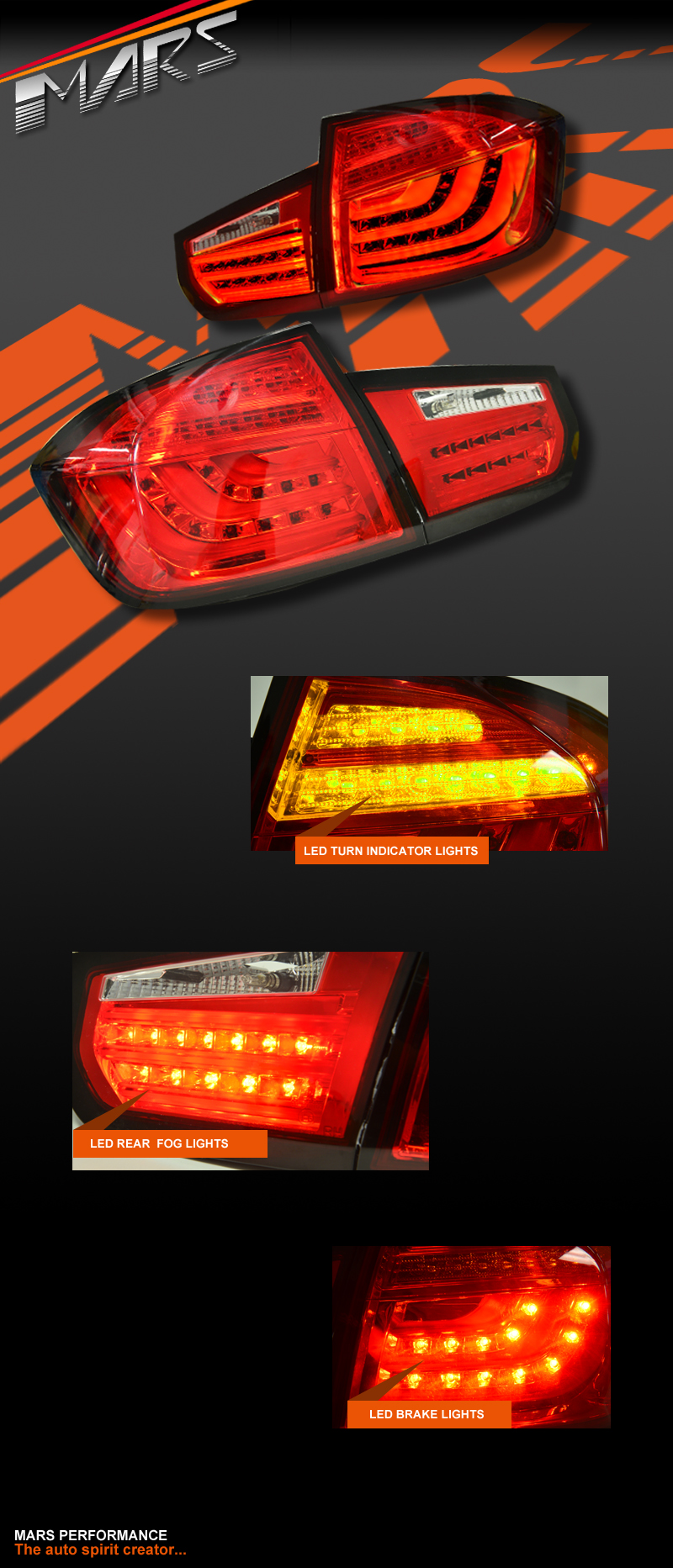 Clear Red 3D LED Stripe Bar Tail Lights for Hyundai iLoad /& iMax Van 08-18