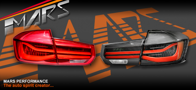 Smoked Black Lci Style Tail Lights With Led Indicators For