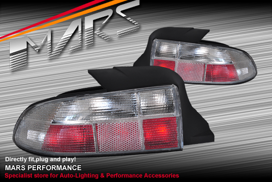 Crystal Clear Tail Lights For Bmw Z3 E36 7 96 03 Mars