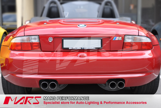 Clear Red Tail Lights For Bmw Z3 E36 7 96 03 Mars