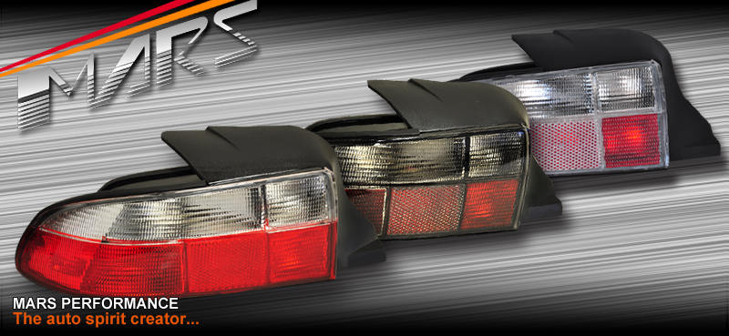 Smoked Black Tail Lights For Bmw Z3 E36 7 96 03 Mars
