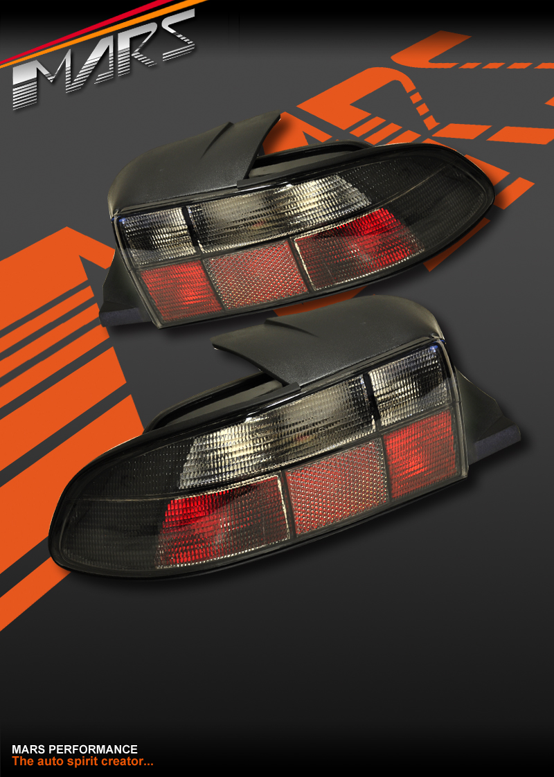 Bmw Z3 96 02 E36 7 Smoked Black Tail Lights Taillight Ebay