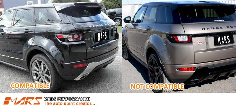 Black Led Tail Lights For Land Rover Range Rover Evoque 11
