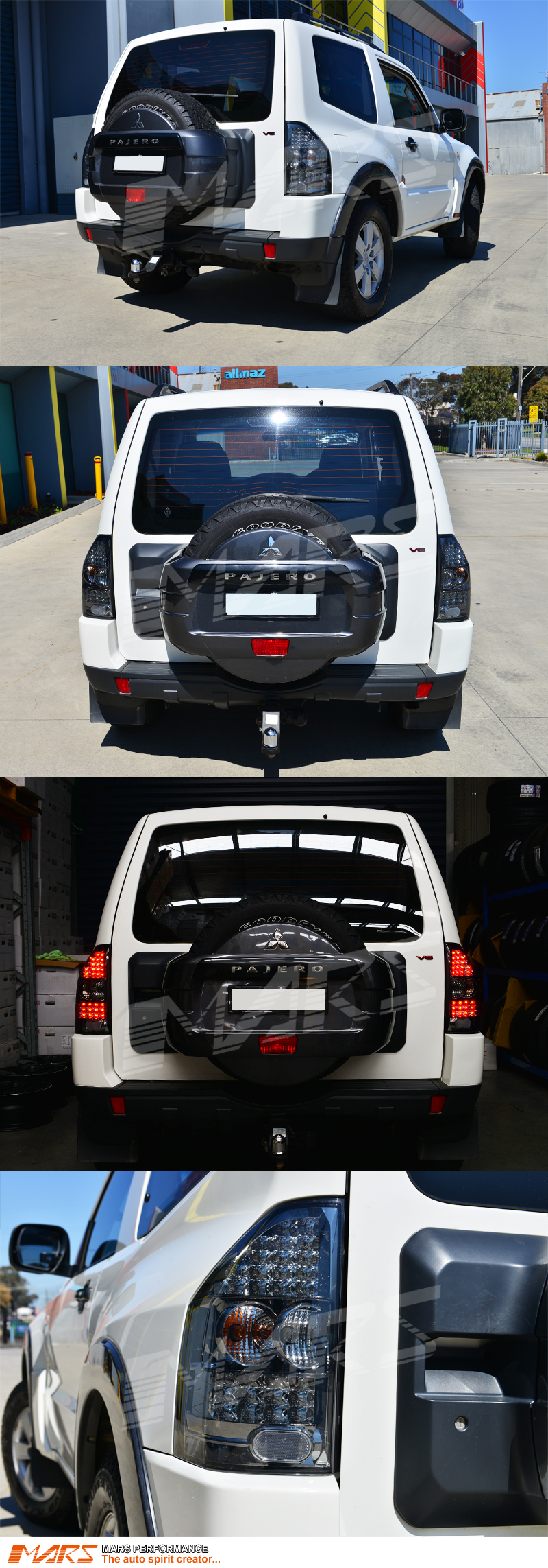 Smoked Black Led Tail Lights For Mitsubishi Pajero Nm Np 00 06 2001 Montero Wiring Harness Using Your Factory Supplied Connector Will Avoid Cutting Or Modifying Any Wires