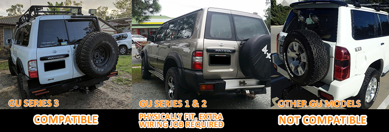 smoked led tail lights for nissan patrol gu 97 04 taillight 4wd 4x4 rh ebay com Chevrolet Tail Light Wiring Diagram Chevrolet Tail Light Wiring Diagram