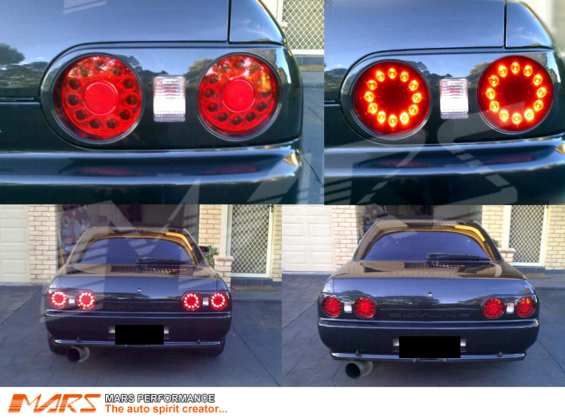 jdm led tail lights for nissan r32 skyline coupe gts t gt. Black Bedroom Furniture Sets. Home Design Ideas