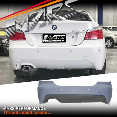 fbc8f154434f M Tech   M Sport Style Rear bumper bar for BMW 5-Series E60 sedan
