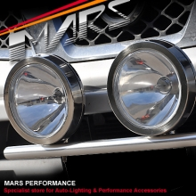 MARS LA2608XG 9 Inch 4x4 Stainless Steel Fog Driving Spot Lights