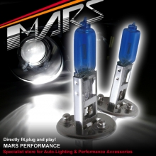 MARS 5800K Super White 100W H1 Halogen Car Head Lights Bulbs