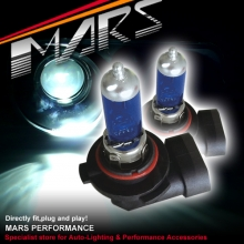 MARS 5800K Super White 100W H10 Halogen Car Head Lights Bulbs