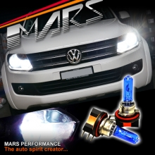 MARS 6500K Super White 55W H15 Dual Beam DRL Halogen Car Head Lights Bulbs