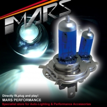 MARS 5800K Super White 100W H7 Halogen Car Head Lights Bulbs
