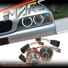 MARS 6500K Angel Eyes Marker Replacement bulbs for BMW E39 E60 E83 E87 E63 E65 E66