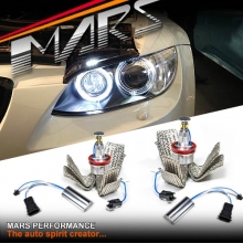 MARS 6500K 40W H8 Angel Eyes Marker Replacement bulbs for BMW E90 E92 E93 M3 E71 E83 E84 E87