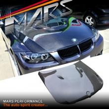 Real Carbon Fiber M3 OEM Style Bonnet hood for BMW 3 Series E90 E91 05-08 Pre LCI