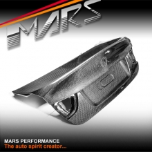 CSL M3 Style Real Carbon Trunk Boots for BMW 3-Series E90 Sedan 09-11 LCI