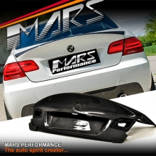CSL M3 Style Real Carbon Trunk Boots for BMW 3-Series E92 Coupe 06-13