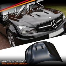 C63 AMG 507 Style Aluminium Bonnet Hood for Mecedes-Benz C-Class W204 C204 11-14