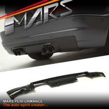 CSL Style Real Carbon Fiber Rear Bumper Bar Diffuser for BMW E46 M3