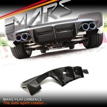BMW E82 1M Coupe Revozport Style Real Carbon Fiber Rear Bumper Bar Diffuser