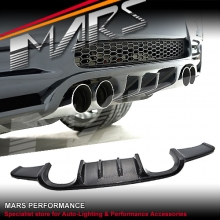Hamman Style Real Carbon Fiber Rear Bumper Bar Diffuser for BMW E92 E93 M3
