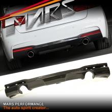 3D Design style Carbon Fibre Rear bumper bar Diffuser for BMW F30 M Tech M Sports 335i