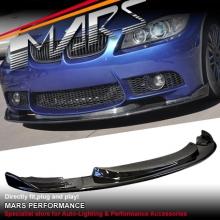 Hamann M3 Style Front Bumper Carbon Fiber Lip for BMW E90 E91 05-11
