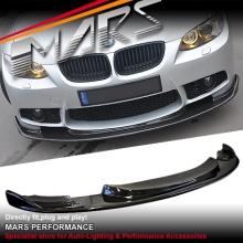 Hamann Style Front Bumper Bar Carbon Fiber Lip Spoiler for BMW E92 E93 M3 Style Bumper
