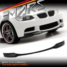 Vorsteiner Style Carbon Fiber Lip Spoiler for BMW E90 E92 E93 M3 Style front bumper bar