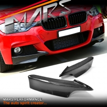 Carbon Fibre Front bumper bar Splitter for BMW F30 M Tech M Sports