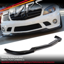 AMG C63 GodHand style front bumper bar Carbon lip for Mercedes-Benz W204 07-10