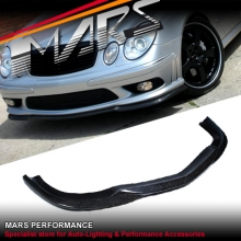 E55 AMG Carlson style front bumper bar Carbon lip for Mercedes-Benz W211 03-06