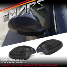 Real Carbon Fibre Mirror Cover for BMW E90 E91 Sedan & Wagon 05-08