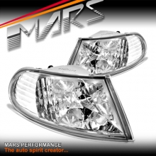Clear Side Corner Turn Signal Indicator Lights for Holden Commodore & HSV VR VS