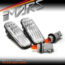 Crystal Clear Side Indicator Turn Signal Marker lights for Honda CIVIC EK 96-00